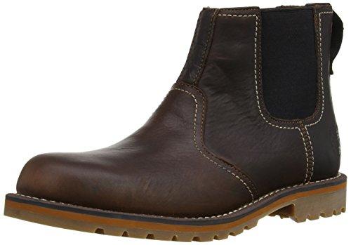 Timberland EK Larchmont FTM_Chelsea, Chelsea Boots da Uomo Marrone (Braun (Medium Brown))