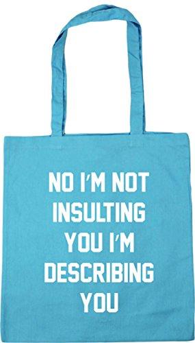 HippoWarehouse describing not Gym Blue Tote you Shopping Bag i'm i'm Surf 42cm No 10 litres Beach you insulting x38cm pxYwRrpq