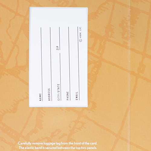 Hallmark Graduation Greeting Card with Removable Luggage Tag (Change the World) Photo #5