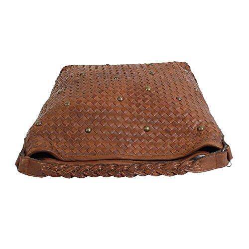 Camalee de Large Coñac Claretta Bolso tela para mujer wqxB8wzrE