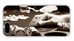 Hipster For SamSung Note 2 Phone Case Cover best poker two aces PC White for For SamSung Note 2 Phone Case Cover