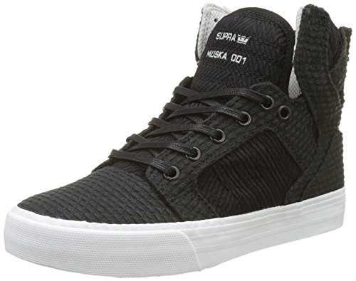 Black white Light Grey Supra Skytop vwC58UUPq