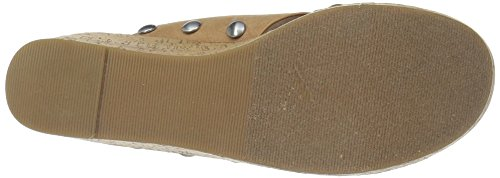 Chinese Laundry Vrouwen Oahu Wedge Sandaal Camel Suede