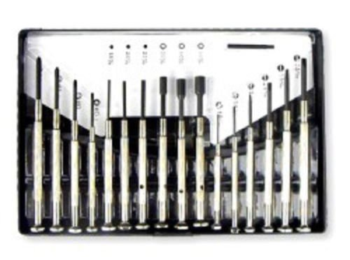 Set Omega Watch - 16 PC SMALL MINI PRECISION SCREWDRIVER SET FOR WATCH JEWELRY ELECTRONIC REPAIR