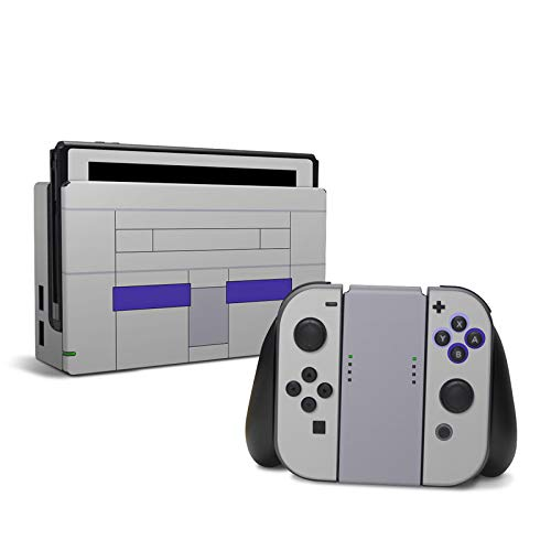 SNES - Decal Sticker Wrap - Compatible with Nintendo Switch