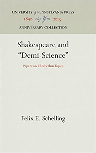 amazoncom shakespeare and demiscience papers on elizabethan  shakespeare and demiscience papers on elizabethan topics hardcover   january