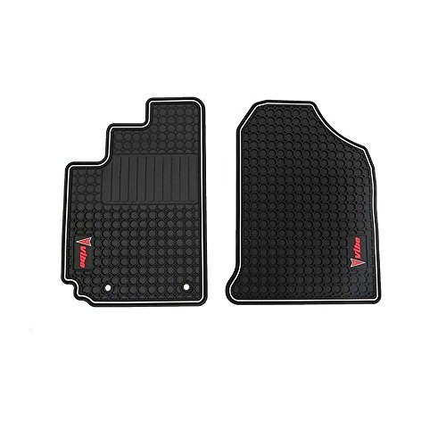 GMC OEM NEW Front All Weather Premium Rubber Floor Mats Graphite 03-08 Vibe 12498520