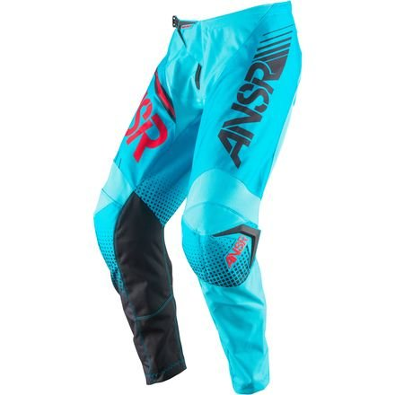 Syncron Red Pants - Answer 2017 Youth Syncron Pants (24) (CYAN/RED)
