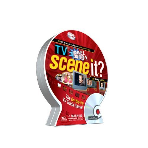 Scene It? TV Trivia DVD Game, Travel Edition by Scene It