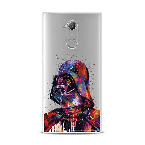 Lex Altern TPU Case for Sony Xperia 1 L3 L2 XZ3 XZ2 Premium XA3 XA2 New Clear Creative Dart Weider Silicone Movie Cover Print Protective Lightweight Flexible Soft Colorful Stylish Smooth ()