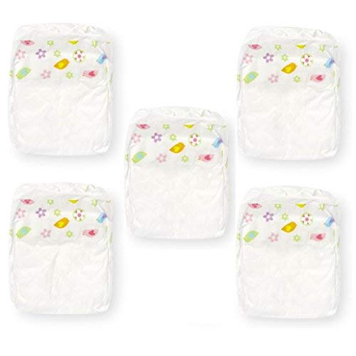 You & Me Doll 5ct Diapers for 14-18