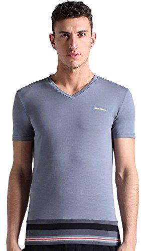 Diesel Men's Michael Maya Bay V-Neck Medium Grey