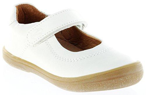 0aeec950fea3cc Richter Kinder Ballerinas-Spangenschuh Leder weiß Mädchen Schuhe  3014-142-0110 Dandi  Amazon.de  Schuhe   Handtaschen
