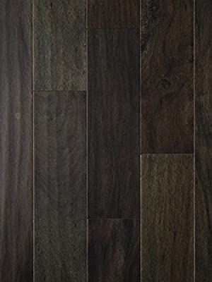 Tasmanian Night Acacia Wood Flooring | Hand Scraped | Durable, Strong Wear Layer | Engineered Hardwood | Floor SAMPLE by GoHaus