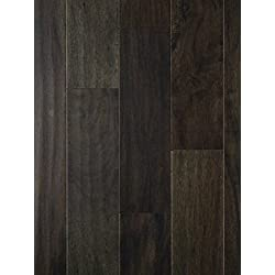 Tasmanian Night Acacia Wood Flooring   Hand Scraped   Durable, Strong Wear Layer   Engineered Hardwood   Floor SAMPLE by GoHaus