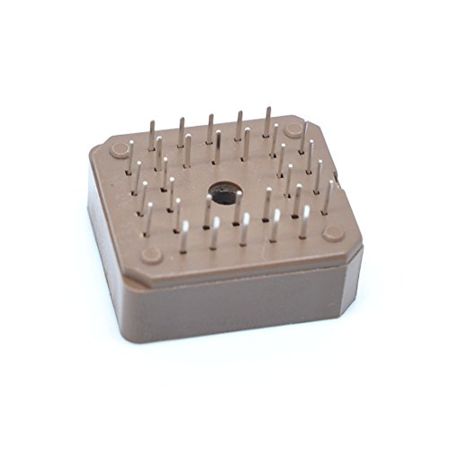 Plcc Ic Socket - Willwin 20 Pcs 2.54mm PLCC-32P DIP IC Socket Adaptors DIP-32P Thru-Hole