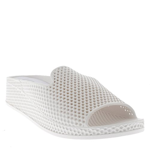 Sandaloi bianco Viva Zeppa Punta Tacco Basso Aperta Scarpe Perforato A Donna 8rxq8Iwv