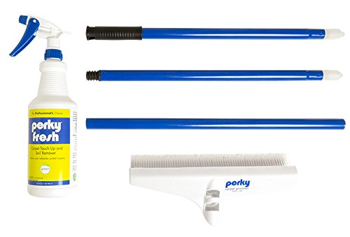 Groom Industries CS39QTRAKE Perky Carpet Rake with Fresh Touch Up & Soil Remover by Groom Industries (Image #1)