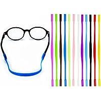 12 Colors Kids Eyeglass String Retainer, Anti-slip Sports Eyewear Retainer, Glasses Sunglasses Cord Holder for Kids