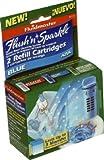 Fluidmaster 8102P8 Flush 'N' Sparkle Toilet Bowl Refill Cartridges 2 Count