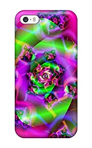 For Iphone 5/5s Premium Case Cover Attractive Green Rose Normal Protective Case