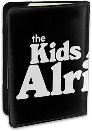 The Kids Are Alright パスポートケース メンズ 男女兼用 パスポートカバー パスポート用カバー パスポートバッグ ポーチ 6.5インチ高級PUレザー 三つのカードケース 家族 国内海外旅行用品 多機能