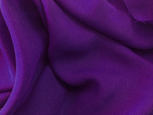 Purple Chiffon Fabric - By the (Purple Chiffon)