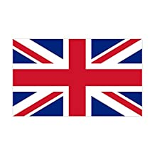 CafePress - Sticker With British Flag - The Union Jack - Rectangle Bumper Sticker Car Decal