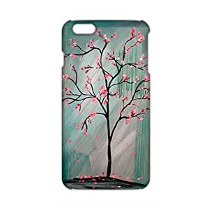 Angl 3D Case Cover Pink Cute Flower Phone Case for iPhone6 plus
