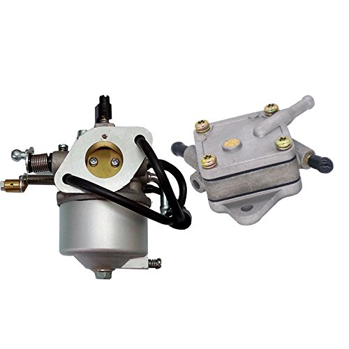 Carburetor 26645G03 26645G04 72558G03 with Fuel Pump 72021G01 for Gas 4 Cycle EZGO Carts with 295cc Engine, 1991-UP (4 cycle only) TXT & (2200 Cart)