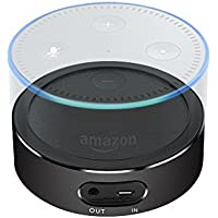 Slimmest Echo Dot Battery Base, Aluminum Portable Power Bank Charger for Amazon 2nd Generation Echo Dot-Black
