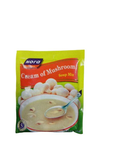 Nora Cream of Mushroom Soup Mix, 2.68-Ounce (Pack of 6)