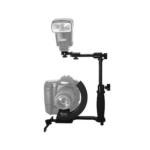 Pro Flash Bracket (Custom Brackets Digital PRO M Rotating Camera Bracket for Digital & 35mm Film Cameras.)