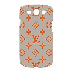 Louis with Vuitton Logo Phone Case Exquisite Design 3D Phone Case snap on Samsung Galaxy S3 I9300 Luxury Logo LV Logo