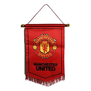 ZQfans Manchester United Indoor and Outdoor Flags Bar/Club/Bedroom Decoration Hanging Flags