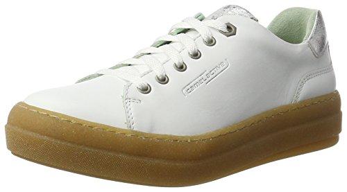 camel active Top 78, Zapatillas para Mujer Blanco (white 03)