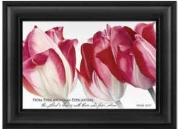 P. Graham Dunn SFM52 PINK TULIPS by P Graham Dunn