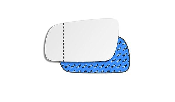 Hightecpl 1LAS Repuesto de espejo retrovisor para puerta de lado izquierdo, lado cercano, gran angular: Amazon.es: Coche y moto