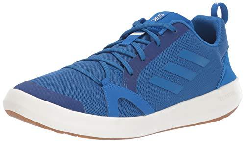 - adidas outdoor Men's Terrex Summer.RDY Boat Water Shoe, Blue Beauty/Chalk White, 12.5 M US