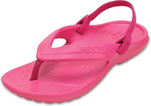 Crocs Classic K Flip Flop, Candy Pink, 11 M US Little - Flip Flops Kids