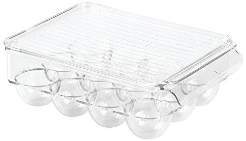 InterDesign Covered Egg Holder Refrigerator product image