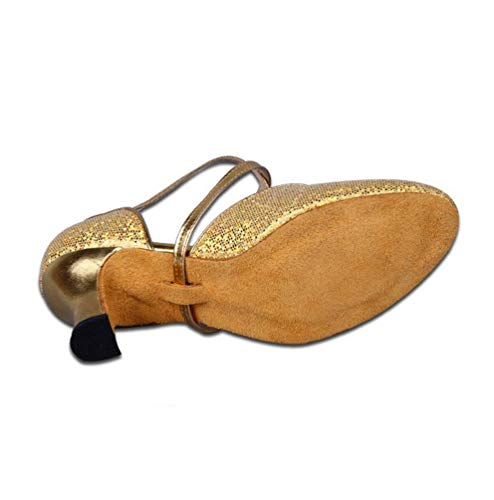 Ballroom Women's CHENYANG Shoes Gold Performance Salsa Dance Shoes Standard Latin 1 O06q0wa