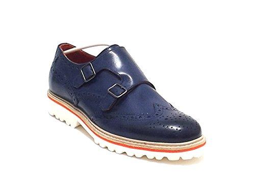 Soldini - Zapatillas para hombre Azul azul