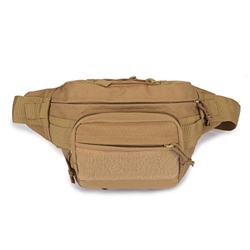 Outdoor Sport Travel Hiking Climbing Hunting Resistent Tactical Military Portable Waterproof Waist Bag