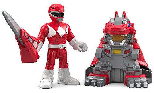 Fisher Price Imaginext Power Rangers Battle Armor Red
