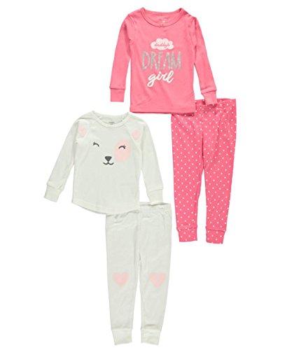 Carters Little 4 Piece Cotton Pajamas product image