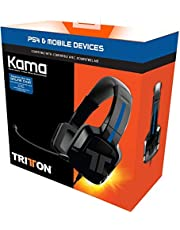 TRITTON Kama Stereo Headset for PlayStation 4, PS Vita, and Mobile Devices