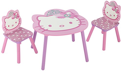 Tavolino Hello Kitty.Hello Kitty Table And Chair Set Amazon Co Uk Baby