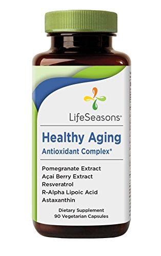 Cheap Healthy Aging – Anti Aging Supplement – Neutralize Free Radicals – Antioxidant Complex – Formula includes Acai Berry, Astaxanthin, Resveratrol, R-Alpha Lipoic Acid & Pomegranate Extract (90 Capsules)