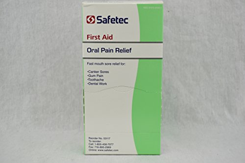 Oral Pain Relief 144-0.75 Gram Packets (1) (Best Pain Reliever For Tooth Pain)